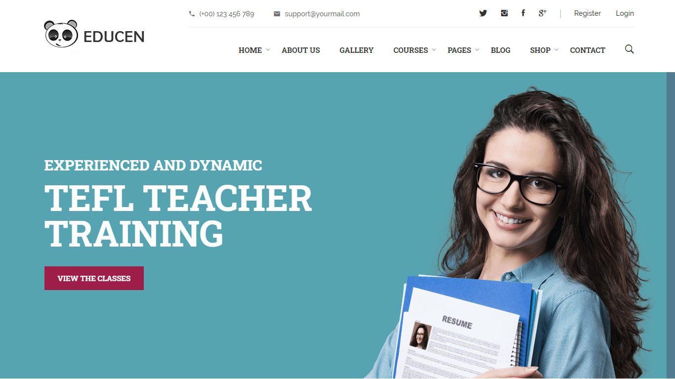 Cần thiết kế website trung tâm ngoại ngữ