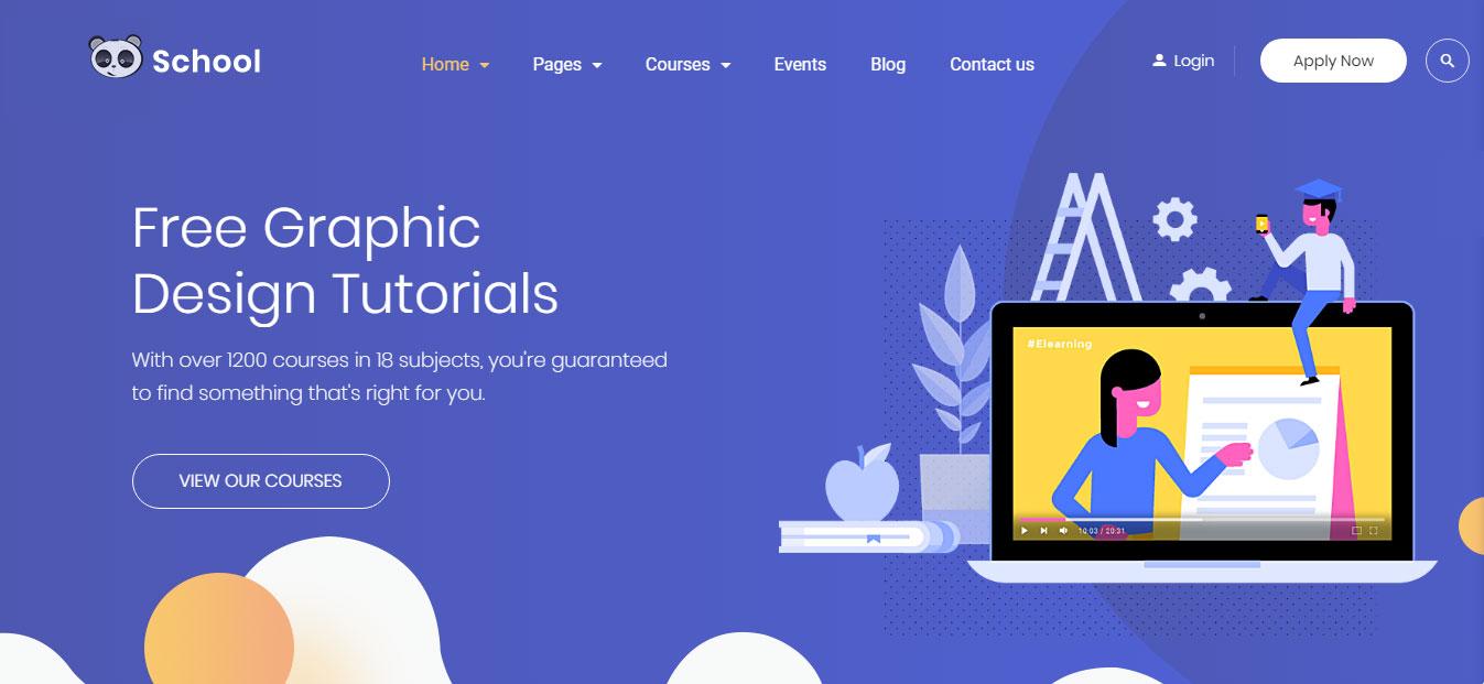 Chức năng của website trường học
