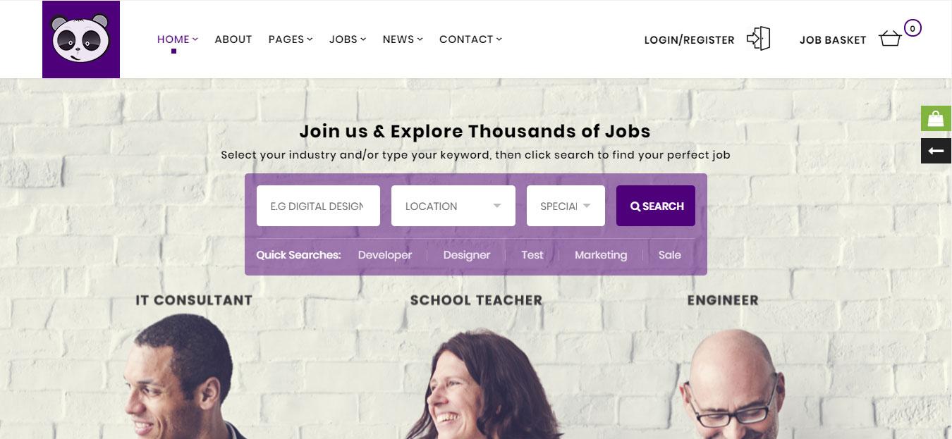 Chức năng website tuyển dụng