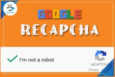 đăng ký Google Recaptcha