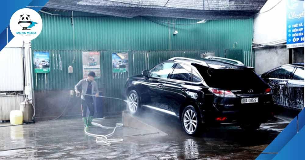 Dịch vụ rửa xe
