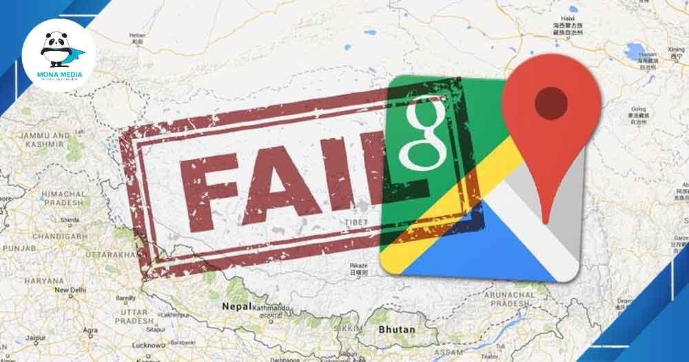 hạn chế để đưa địa chỉ lên Google Maps