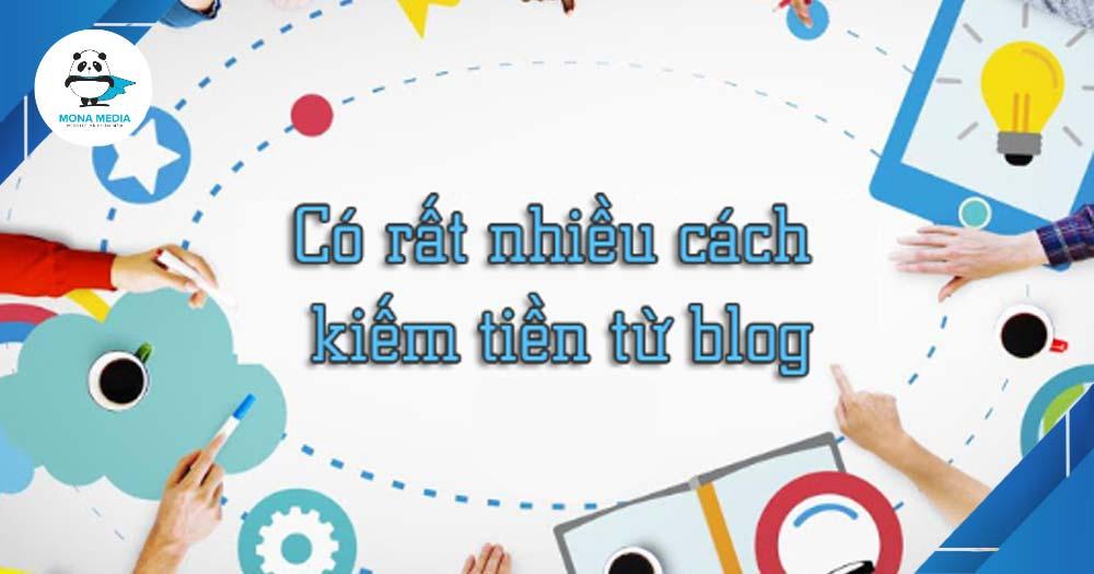 Kiếm tiền với Blog cá nhân.