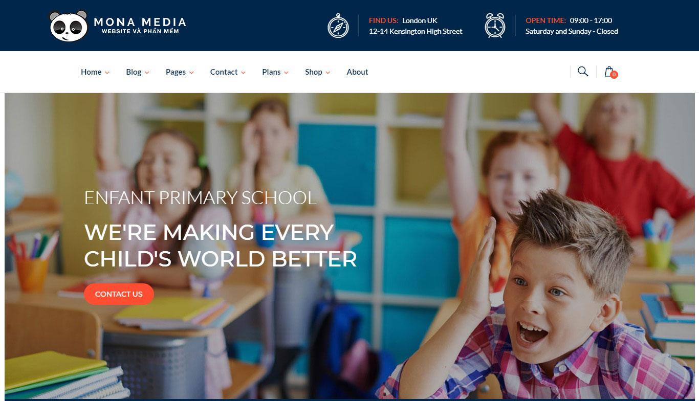 Lợi ích khi thiết kế web trường học