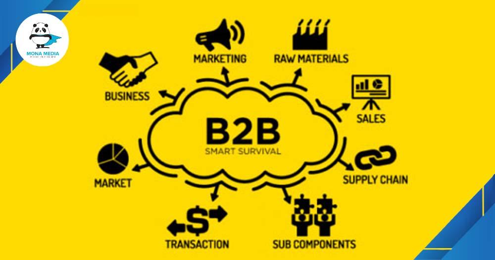 Mô hình B2B thương mại hợp tác.