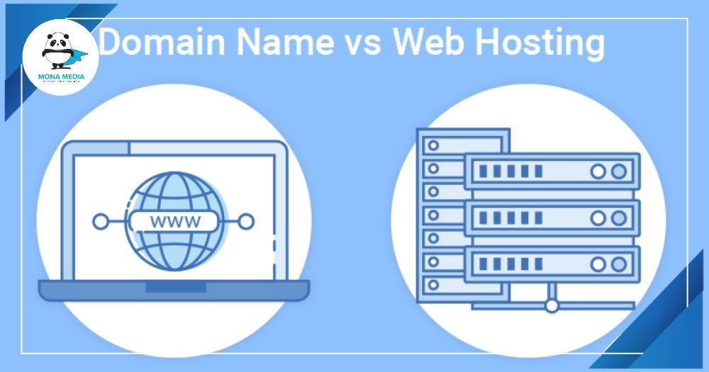 Phân biệt domain và hosting