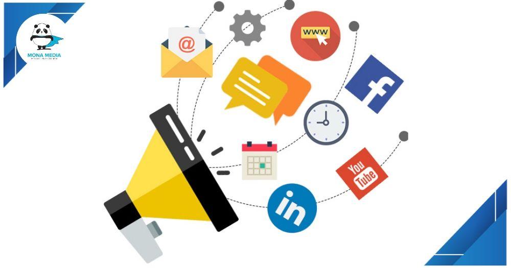 Thành phần của internet marketing