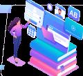 thiết kế web trung tâm ngoại ngữ