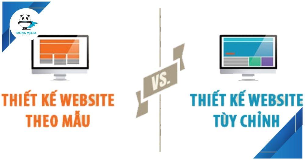 Khác nhau giữa thiết kế website theo yêu cầu và theo mẫu
