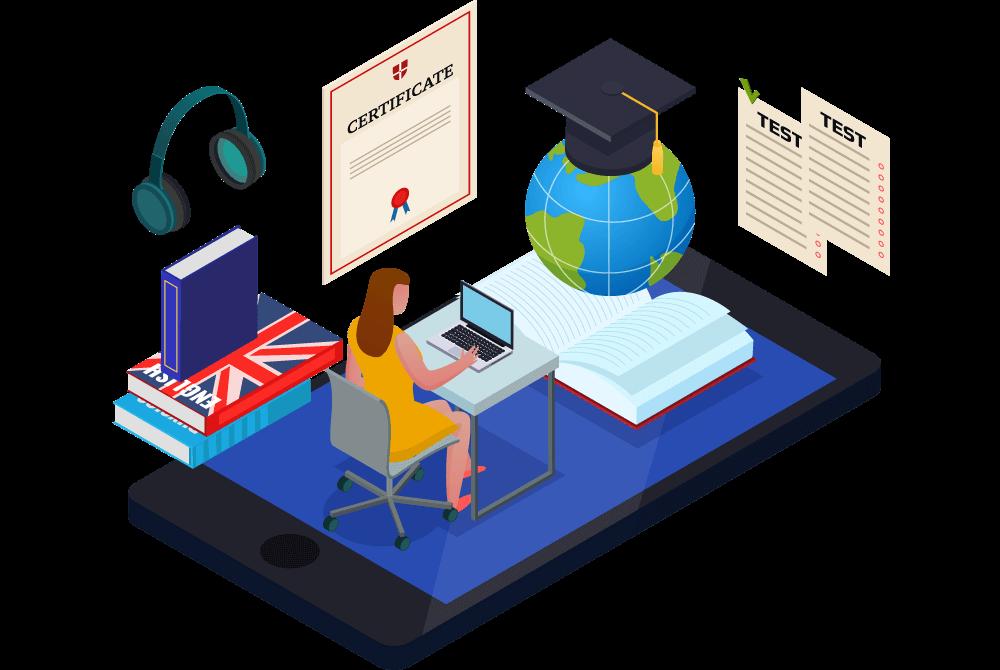 Thiết kế web tư vấn du học