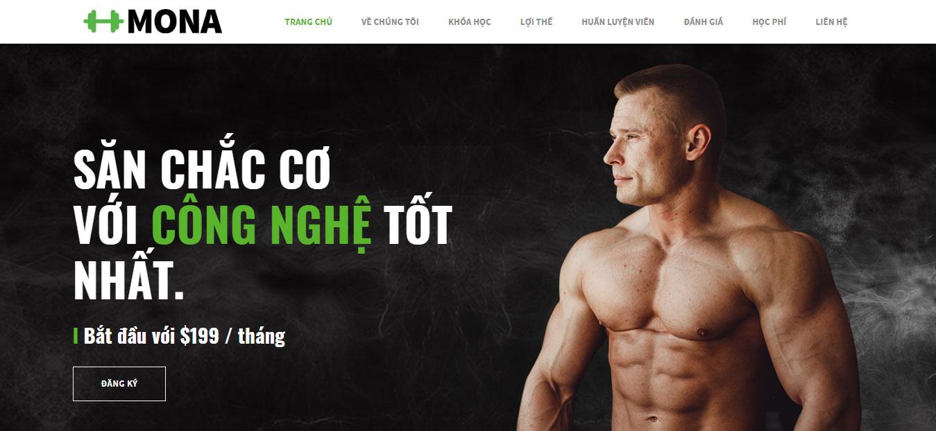 Tối ưu website giới thiệu phòng tập gym