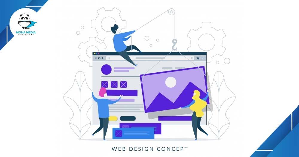 Thiết kế UI/UX cho website tạo nên sự rõ ràng và mạch lạc.