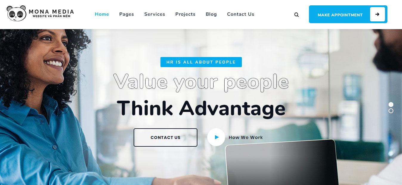 Vì sao nên thiết kế website tuyển dụng