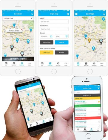 Bus Map App