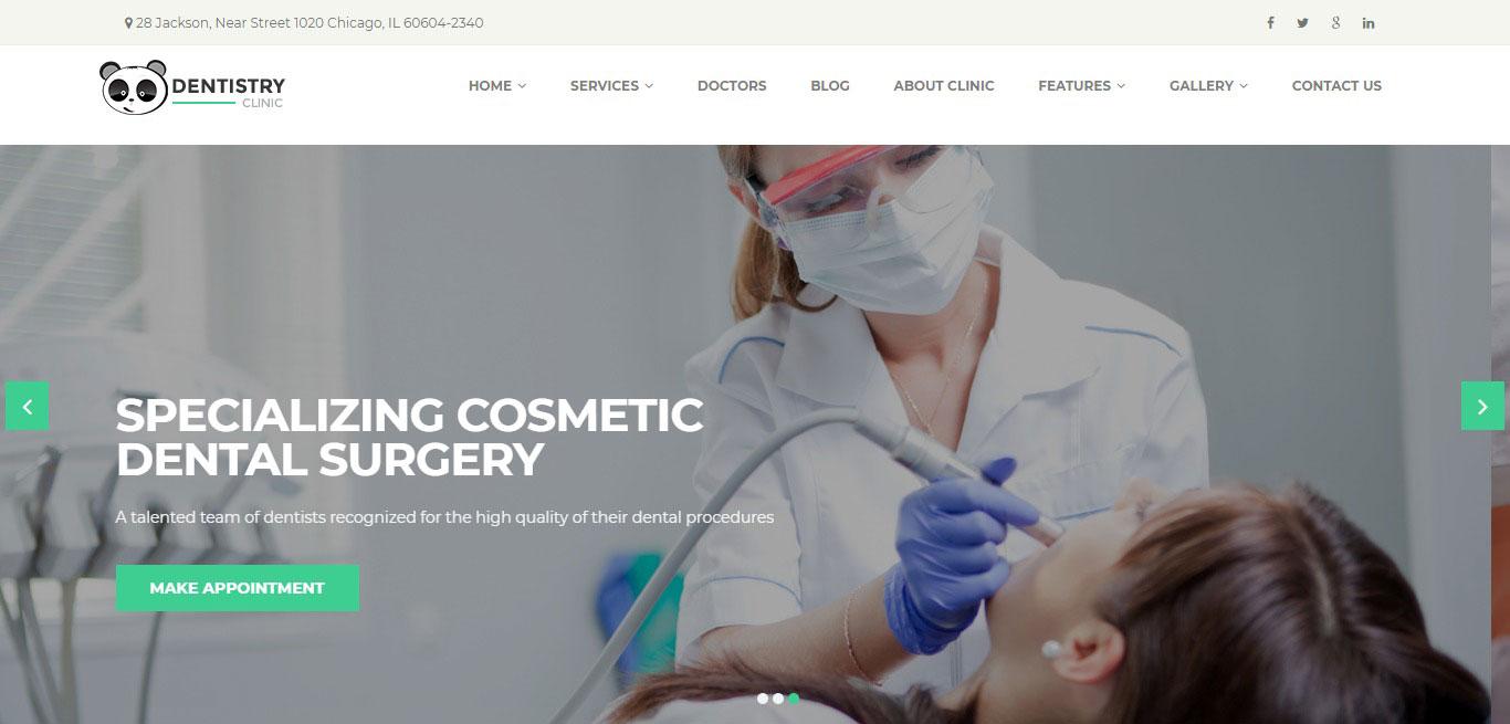 Cần thiết kế website phòng khám nha khoa