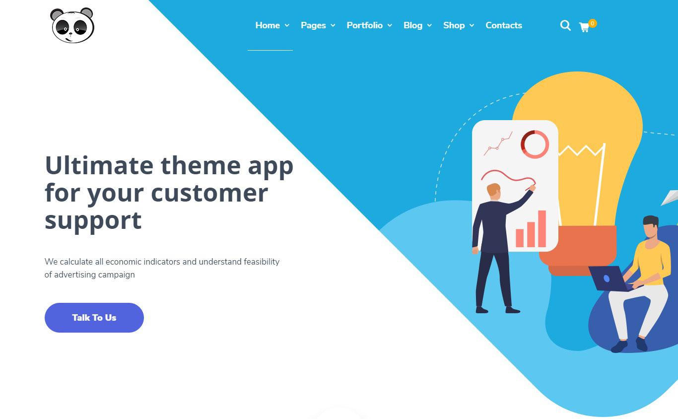 Dịch vụ thiết kế web công ty quảng cáo
