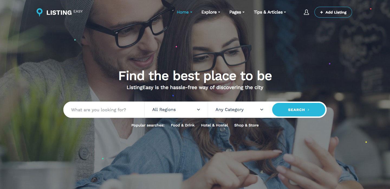 Mẫu website bất động sản giống AirBnB