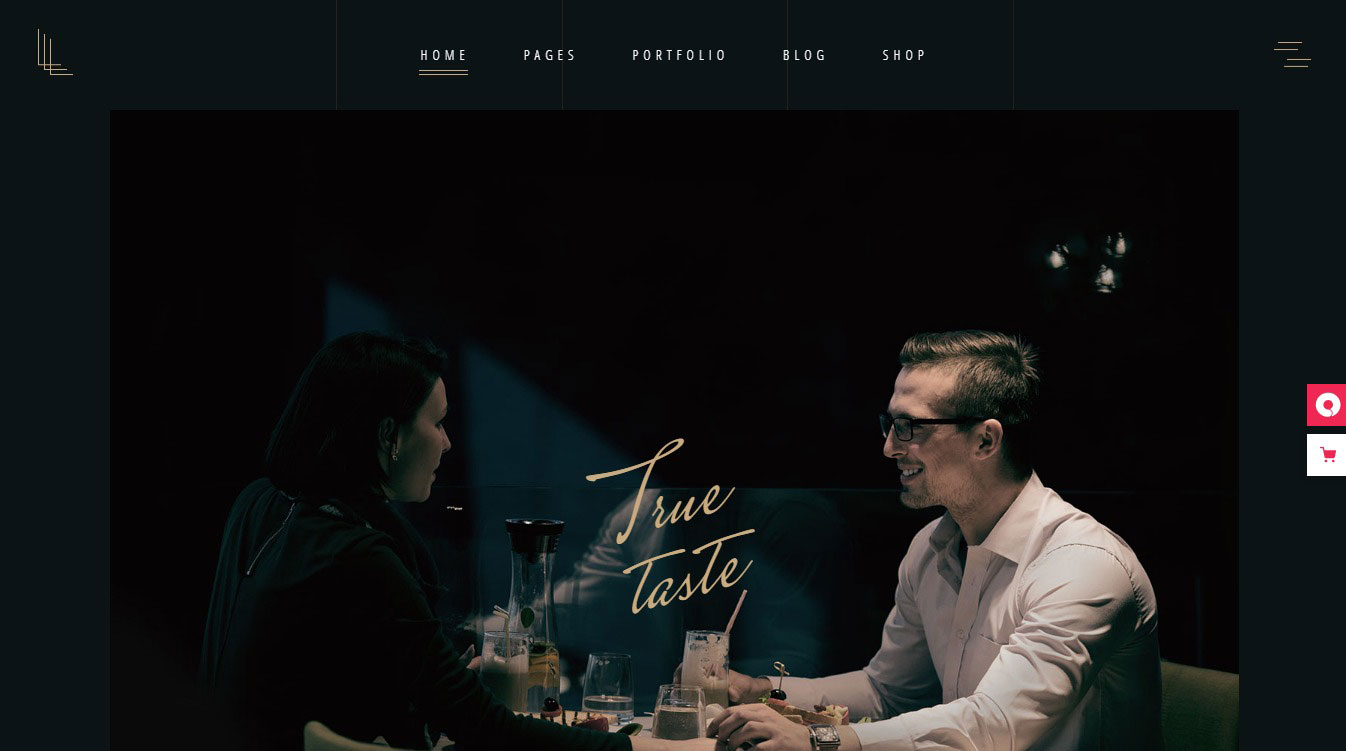 nên thiết kế website nhà hàng - ẩm thực