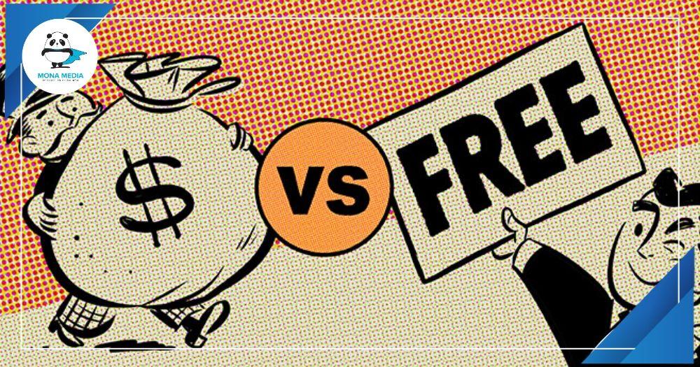 phần mềm miễn phí hay trả phí