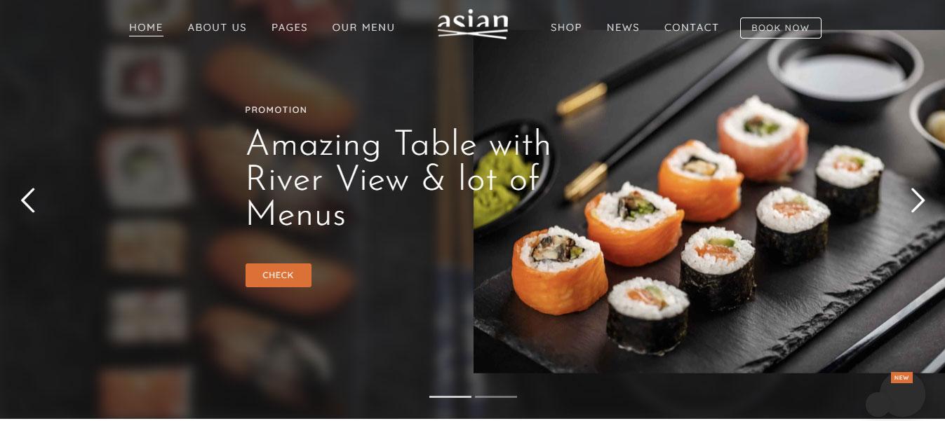 Vấn đề khi thiết kế website nhà hàng