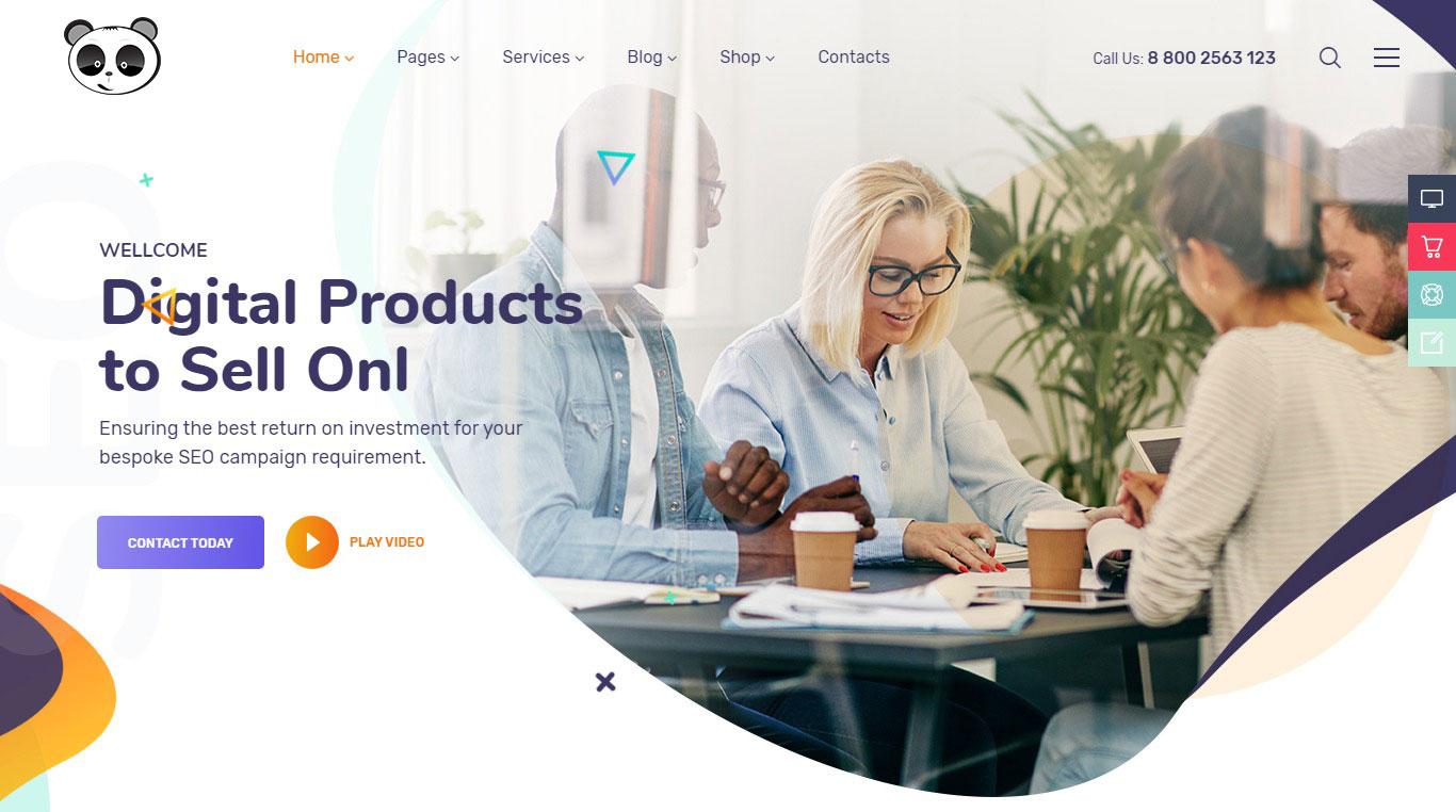Website công ty quảng cáo