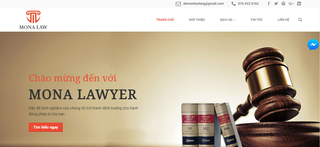 Lợi ích website công ty luật