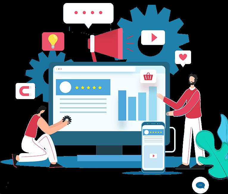 Thiết kế web công ty quảng cáo
