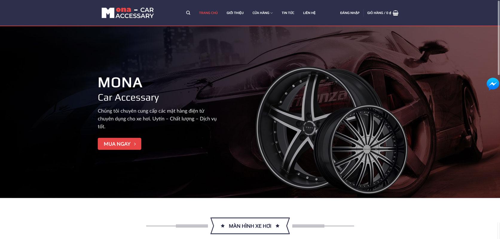 Website cho thuê xe