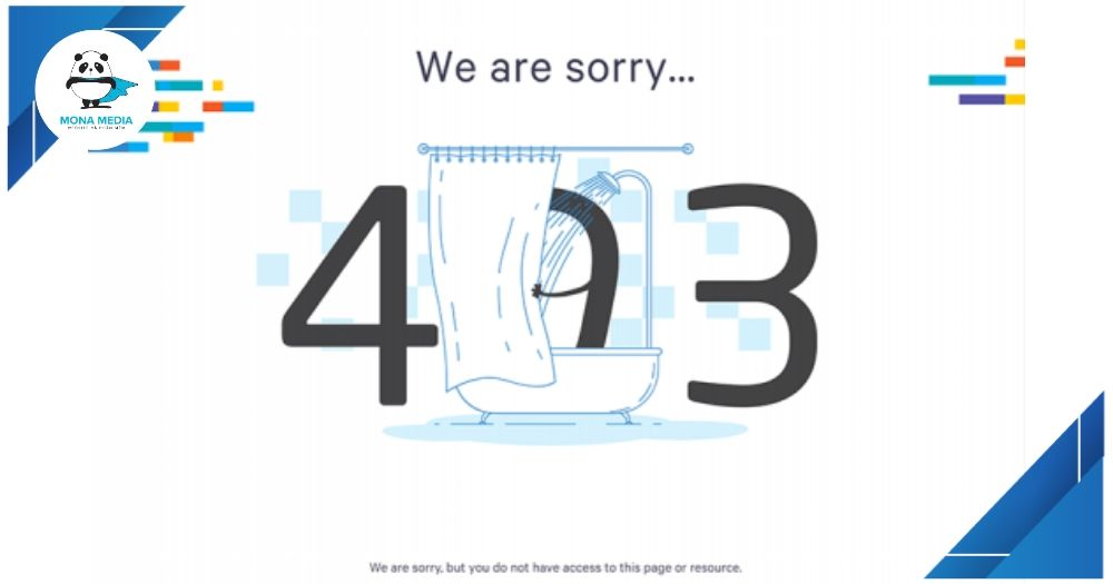 Lỗi 403 forbidden error
