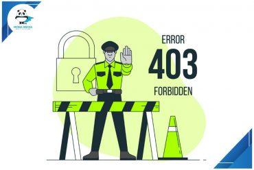 ỗi 403 forbidden error