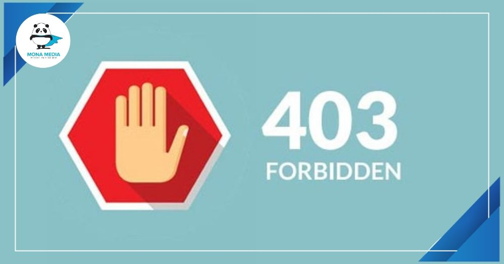 nguyên nhân gây ra lỗi 403 forbiden cho website
