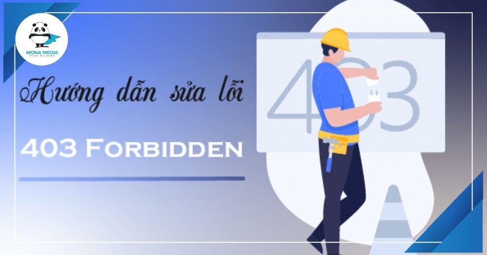 cách sửa lỗi 403 forbidden error
