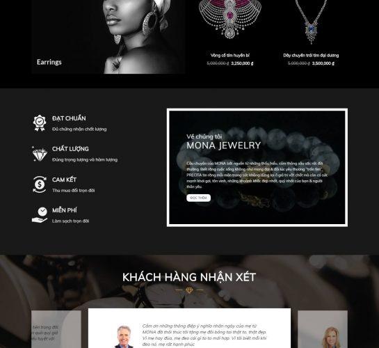 karojewelry trang chu