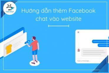 Hướng dẫn cài đặt Facebook Chat vào website