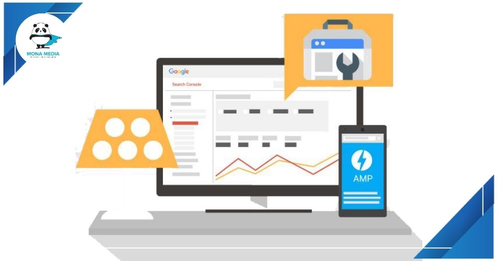amp trong search console