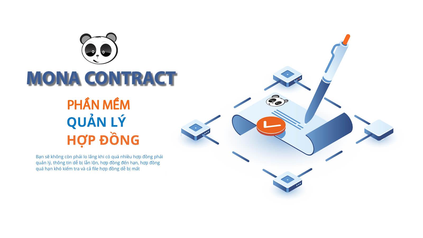 Phần mềm quản lý hợp đồng Mona Contract